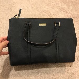Kate spade saffiano leather loden bag